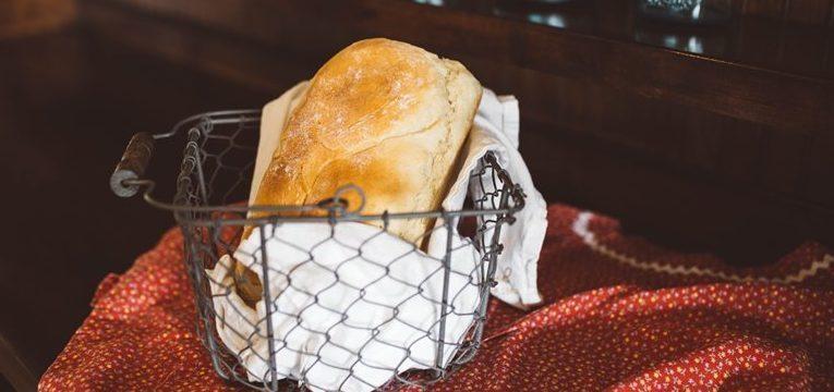 como fazer pão caseiro no microondas