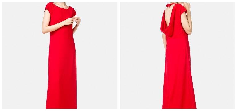 vestidos para madrinhas de casamento vermelho globe