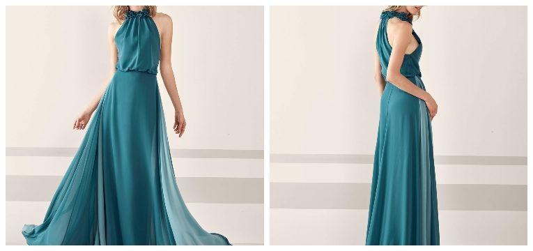 vestidos para madrinhas de casamento pronovias verde