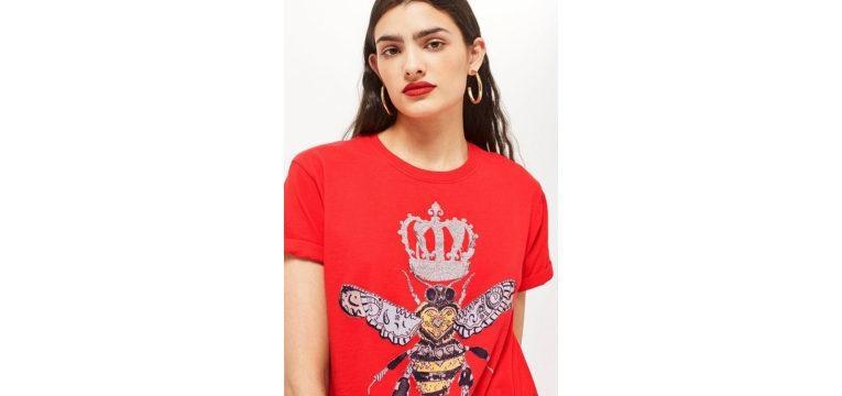 t-shirts para o verão abelha