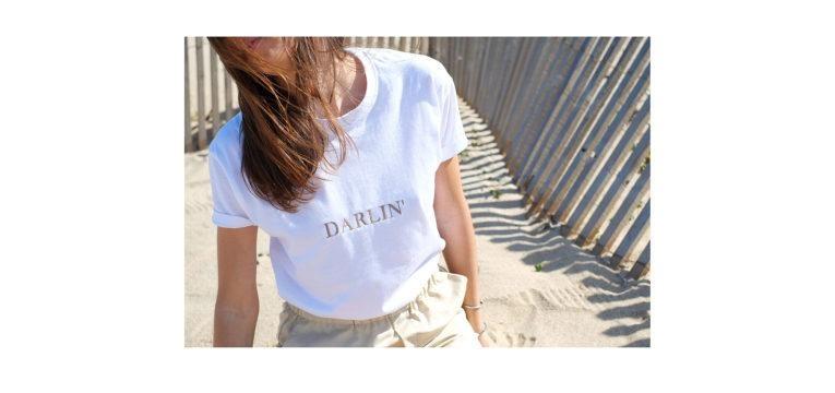 t-shirts para o verão darlin rust and may