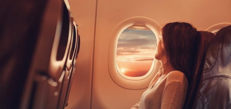 melhores lugares no avião