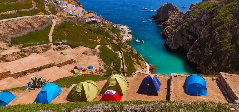 ilhas berlengas camping