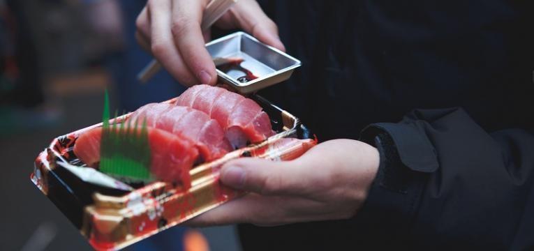 molhos para sushi e sashimi