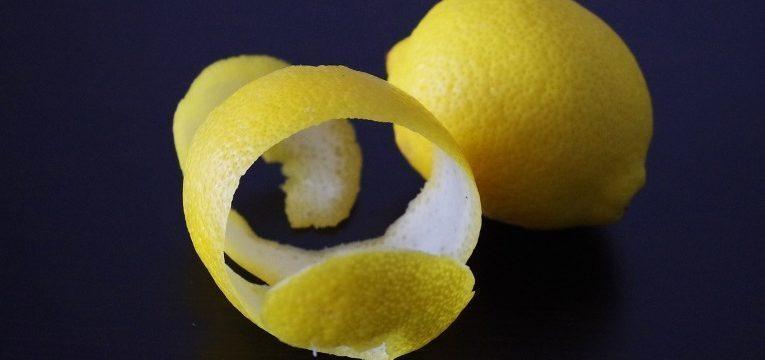 aproveitar cascas de limão