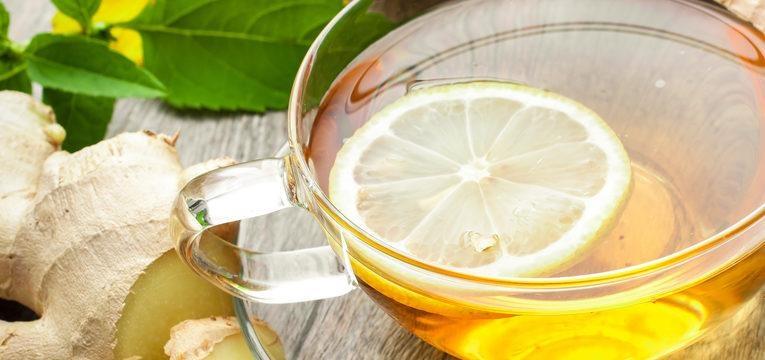 o chá de gengibre é uma boa opção para chá energizante