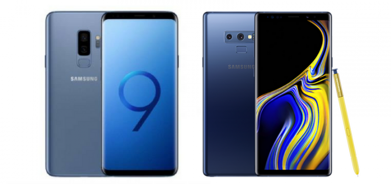 Galaxy S9 vs Galaxy Note 9