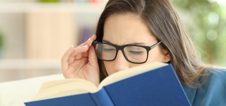 sintomas da vista cansada