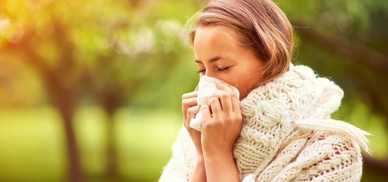 alergia ao polen