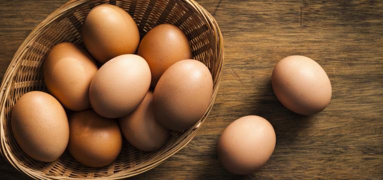 alimentos com ovos