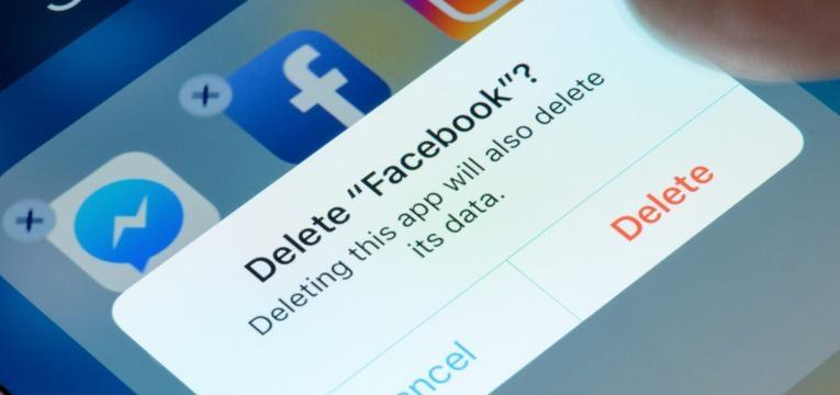 apagar Facebook