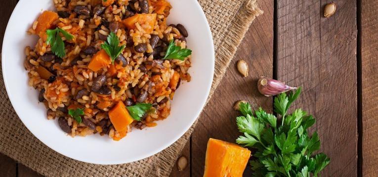 receitas de arroz de feijao