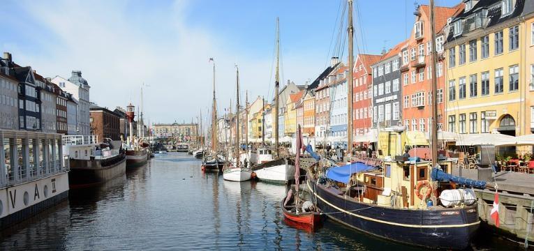 Bairro de Nyhavn, Copenhaga