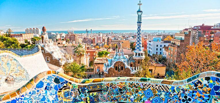 vista sobre barcelona