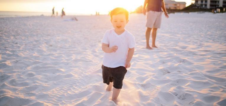 praias para crianças