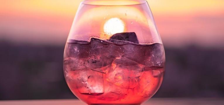 bebidas com cerejas