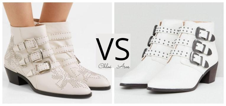 batalha de estilo botas chloe brancas susanah asos
