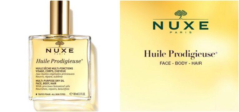 nuxe huile prodigieuse oleo amarelo