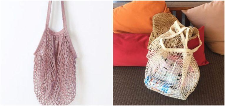 carteira de rede rosa branca ebay