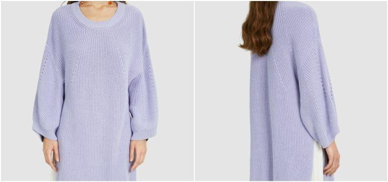 camisola lilas lavanda promocoes bimba y lola