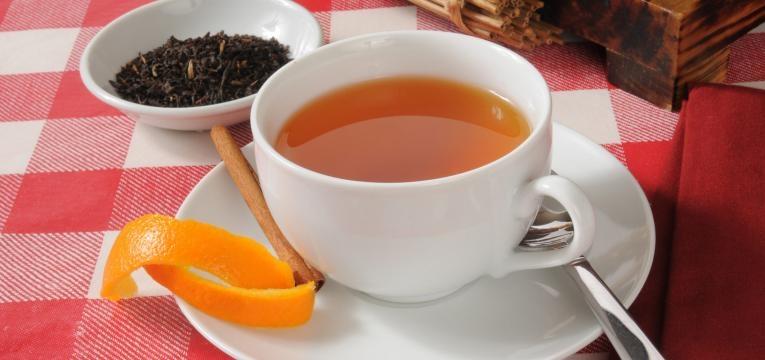 chá de laranja para a gripe