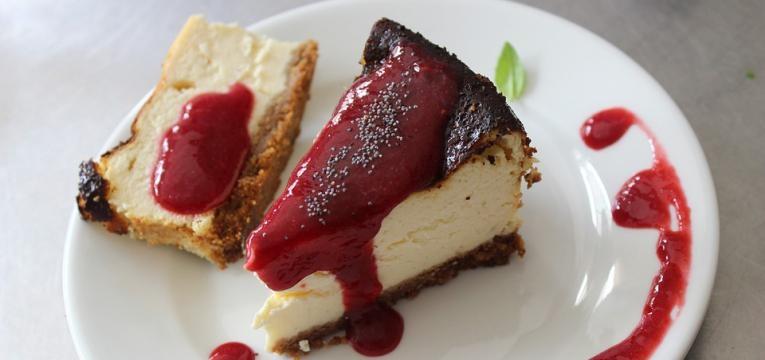 cheesecake de açaí