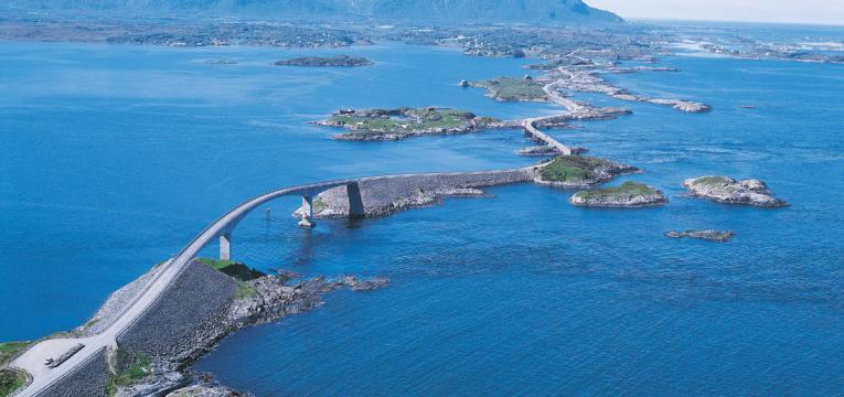 Estrada do Oceano Atlântico, na Noruega