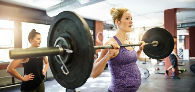 grávida e exercício