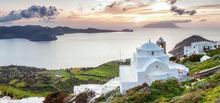 milos ilha grega