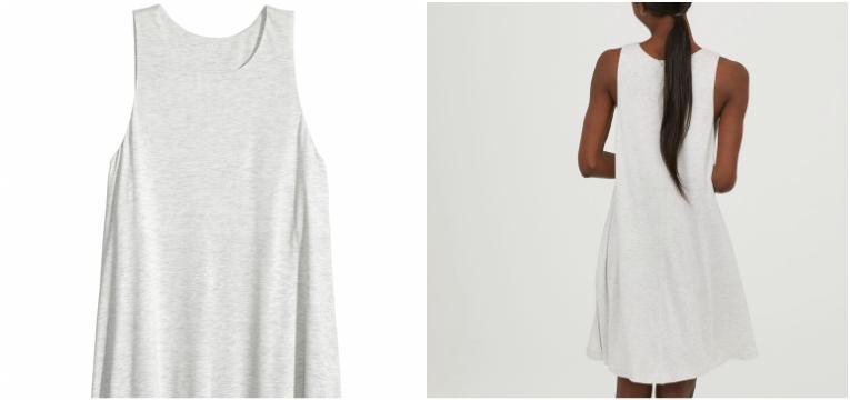 pecas hm comprar primavera vestido linha a branco