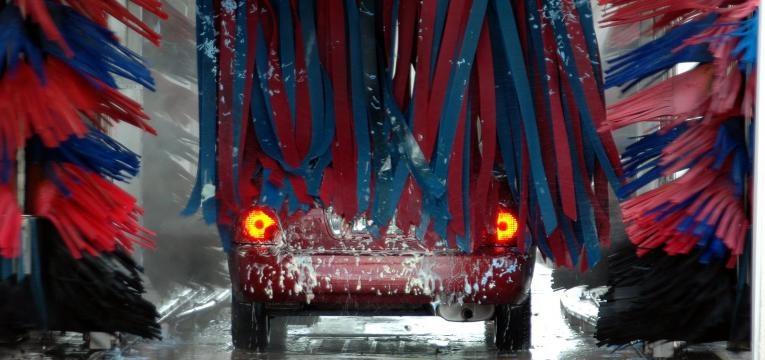 lavagem automatica do carro