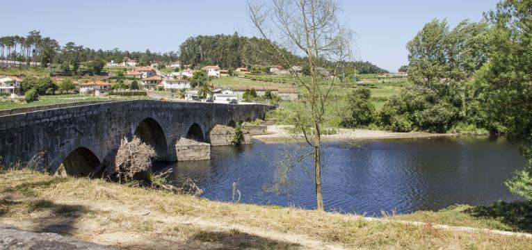 Ponte de Zameiro, Vila do Conde, Caminho de Santiago