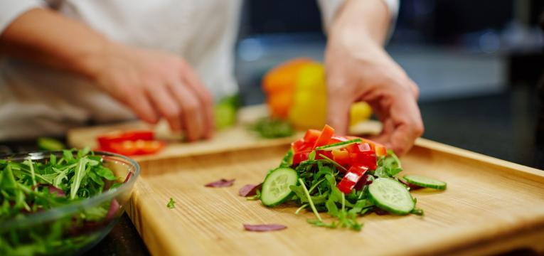 saladas para o jantar