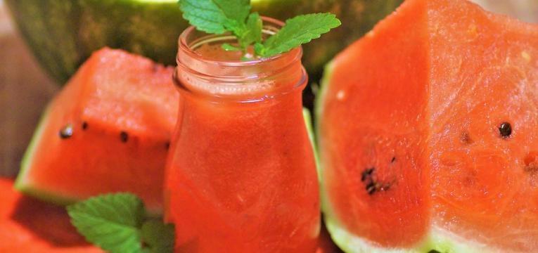 sumo de melancia