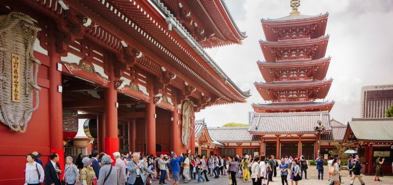 Templo Budista de Sensoji, Tóquio