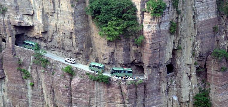 Túnel Guoliang, na China