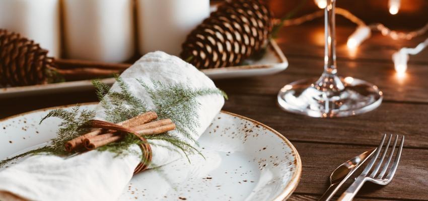 15 dicas para preparar uma mesa de Natal simples e bonita