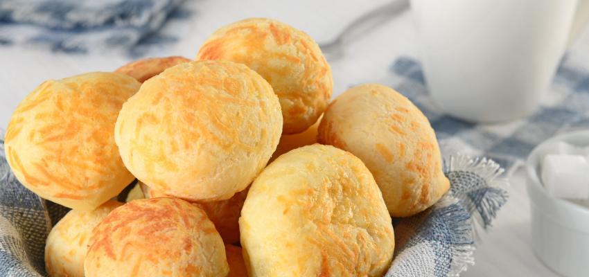 Pão de queijo: já não precisa de ir ao Brasil para se deliciar