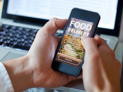 4 apps de entrega de comida ao domicílio