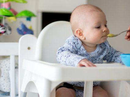 Alimentação de bebé de 4 meses: o que incluir