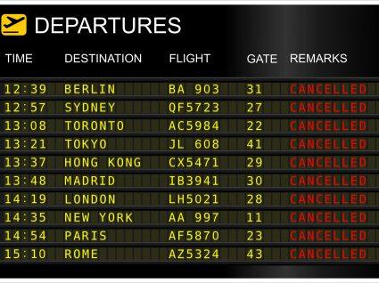 Greve: Ryanair tem cerca de 50% dos voos no continente cancelados