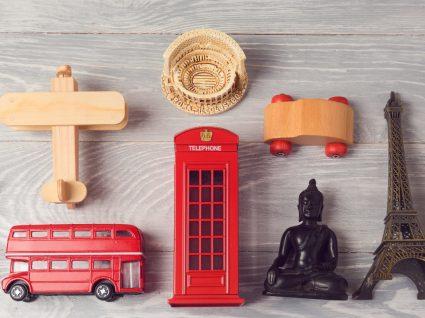 10 ideias para criar um cantinho de viagens em sua casa