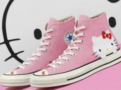 Novidade: Conheça a colaboração Converse X Hello Kitty