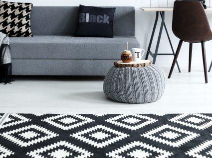 14 ideias para saber como usar o preto e branco na decoração