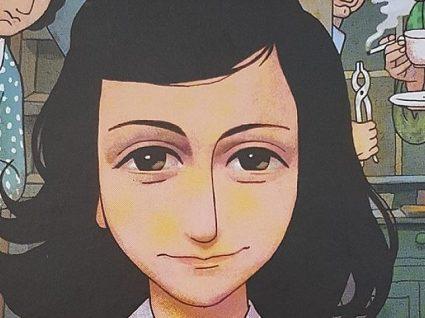 Já folheou o Diário de Anne Frank em banda desenhada?