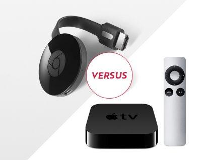 Apple TV ou Google Chromecast – Qual a melhor solução?