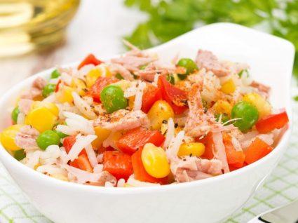 Receita rápida de arroz com atum light: económica e deliciosa