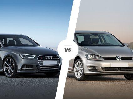 Audi A3 ou VW Golf: qual deve escolher?