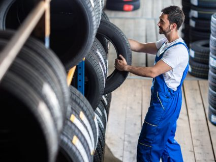 Saiba qual o preço médio por cada medida de pneus