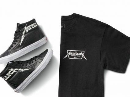 Novidade: Vans lança colecção cápsula para os fãs dos Metallica